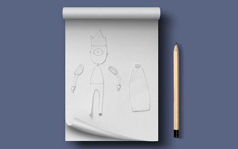 Ilustración José Delgado - El Rey 1