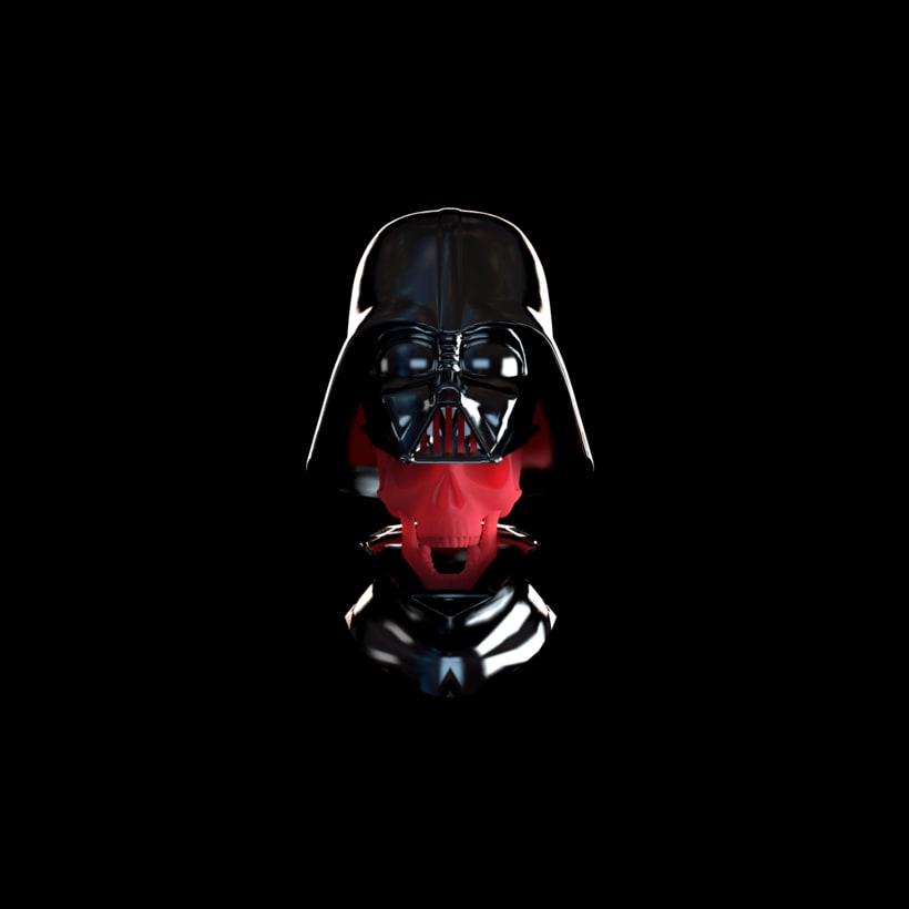 Darth Vader skull -1