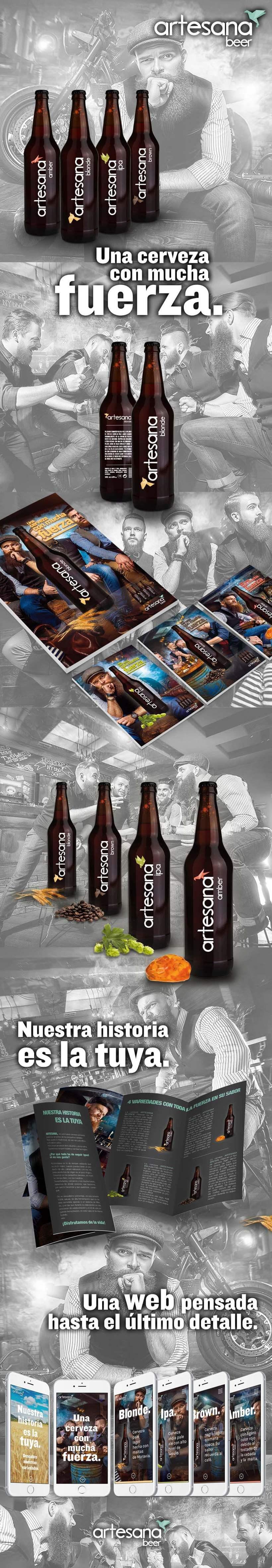 Proyecto360 Artesana :: Brand + pack + Editorial + web 1