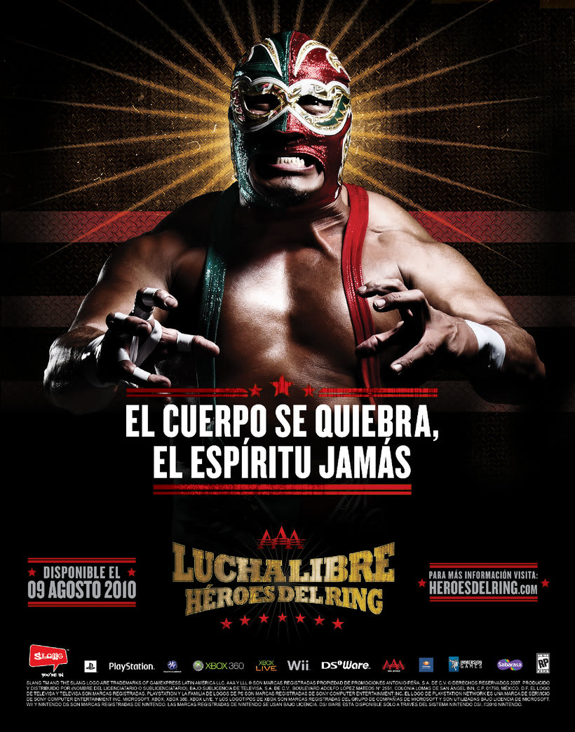 Lucha libre aaa heroes del ring psp download