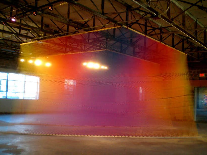 Gabriel Dawe crea arcoíris con hilo y sin agua 20