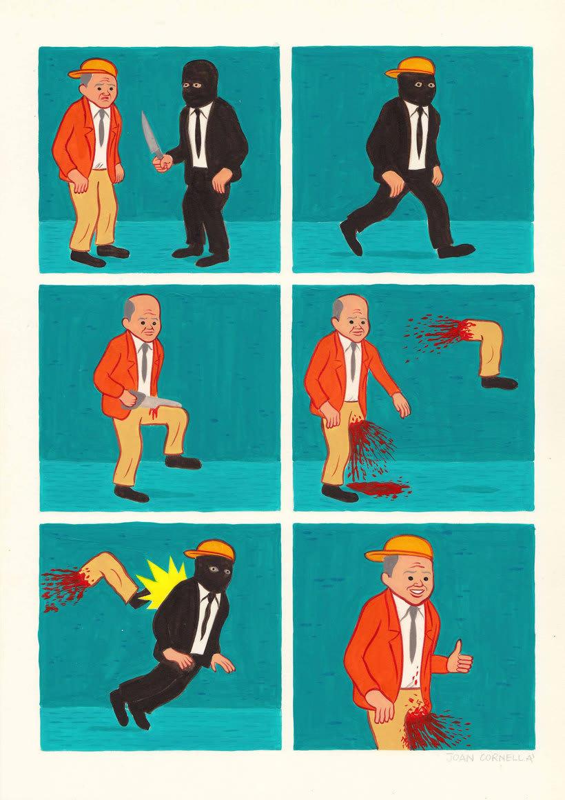Joan Cornellá: humor ilustrado políticamente incorrecto 6