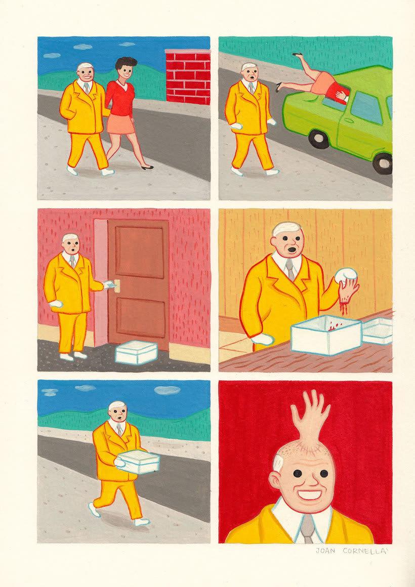 Joan Cornellá: humor ilustrado políticamente incorrecto 3