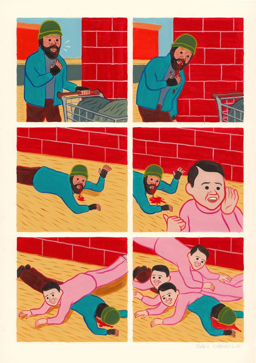 Joan Cornellá: humor ilustrado políticamente incorrecto 8