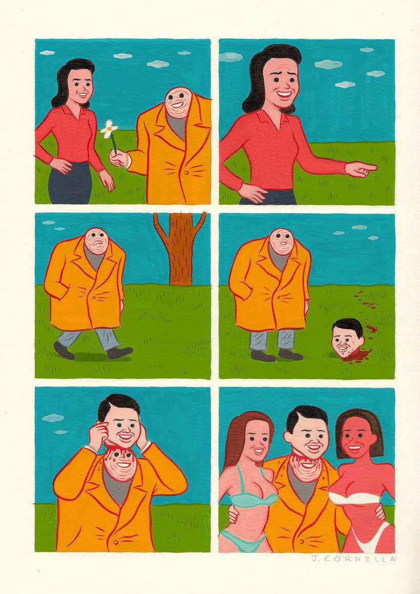 Joan Cornellá: humor ilustrado políticamente incorrecto 14