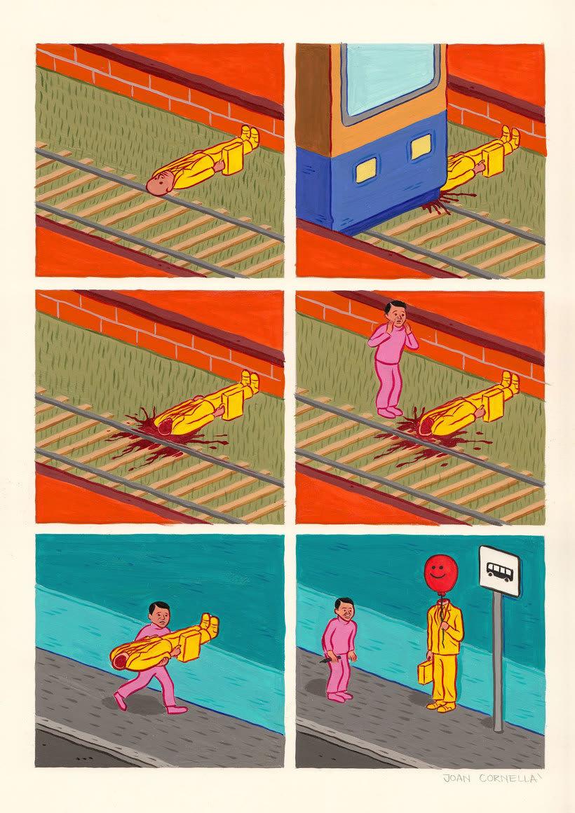 Joan Cornellá: humor ilustrado políticamente incorrecto 15