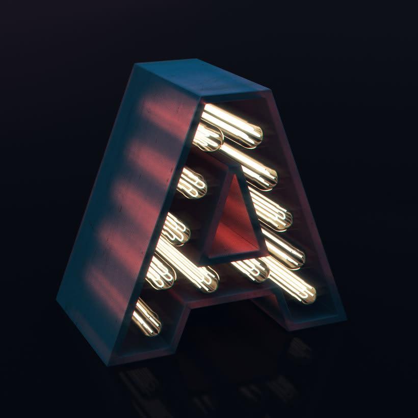 Proyecto: Lettering 3D, de chineeserice 18