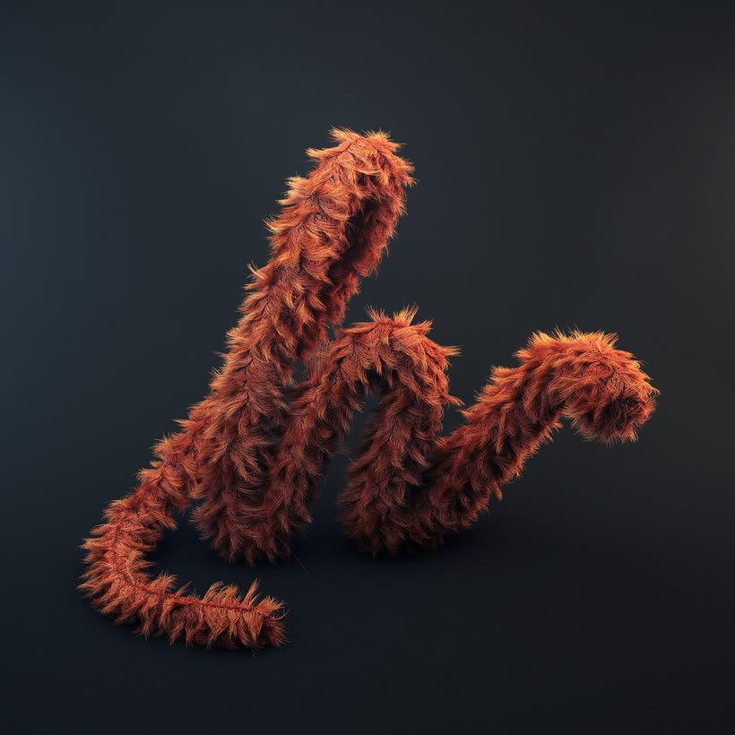 Proyecto: Lettering 3D, de chineeserice 3