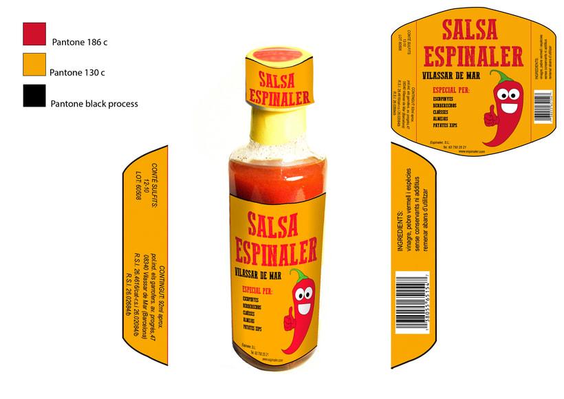 Diseño para Salsa Espinaler 0