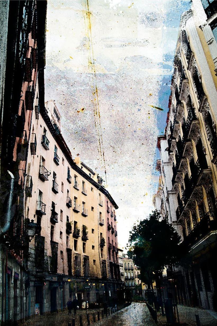 Madrid, pintando arquitectura 0