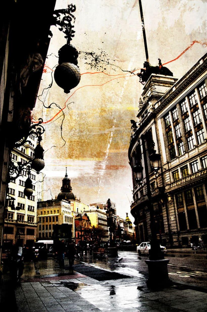 Madrid, pintando arquitectura 1