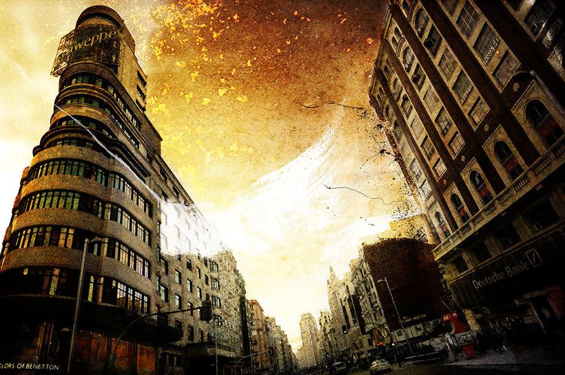 Madrid, pintando arquitectura 2