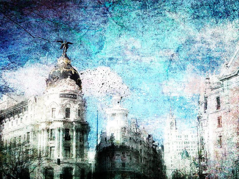 Madrid, pintando arquitectura 4