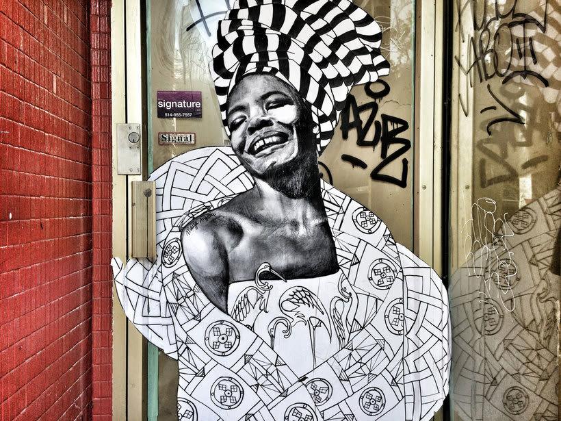 ¿Por qué Missme cambió su trabajo por el arte urbano? 3