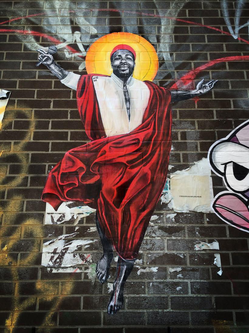¿Por qué Missme cambió su trabajo por el arte urbano? 8