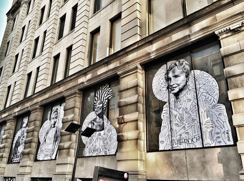 ¿Por qué Missme cambió su trabajo por el arte urbano? 10
