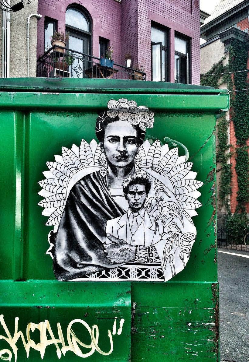 ¿Por qué Missme cambió su trabajo por el arte urbano? 11