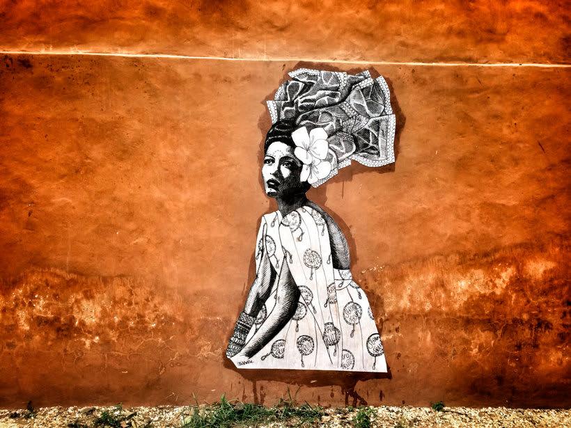 ¿Por qué Missme cambió su trabajo por el arte urbano? 13