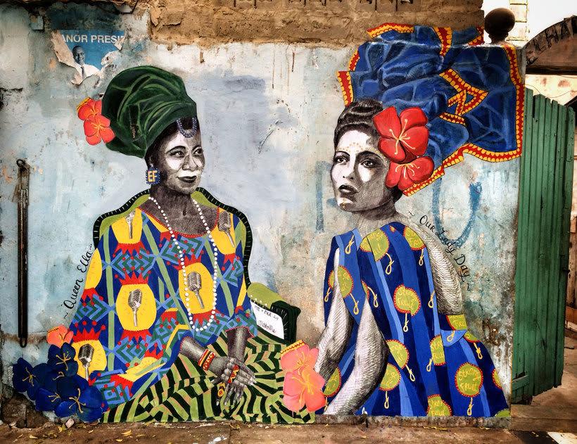 ¿Por qué Missme cambió su trabajo por el arte urbano? 14