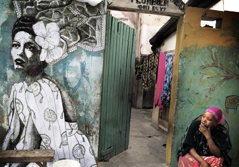¿Por qué Missme cambió su trabajo por el arte urbano? 17