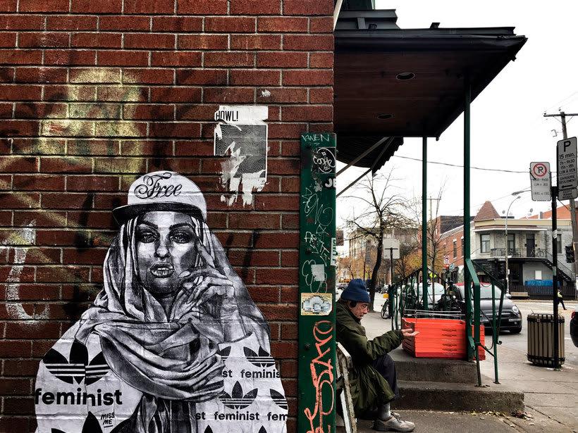 ¿Por qué Missme cambió su trabajo por el arte urbano? 18