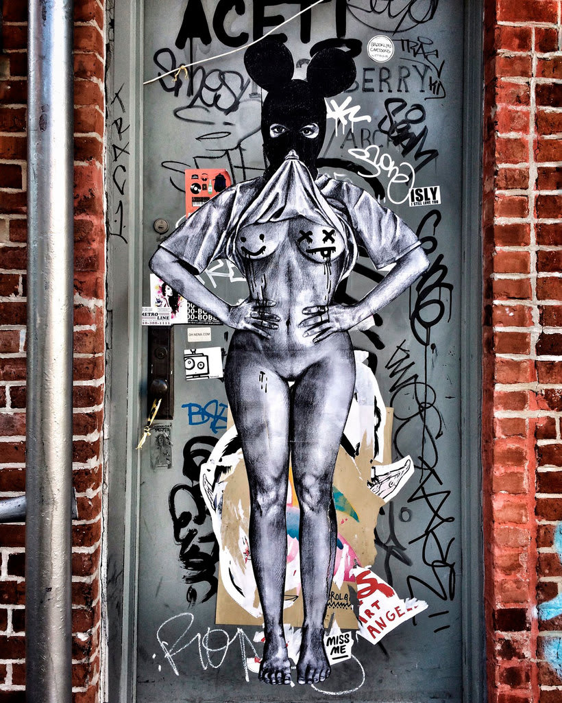 ¿Por qué Missme cambió su trabajo por el arte urbano? 23