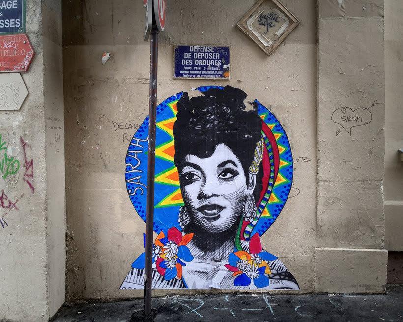 ¿Por qué Missme cambió su trabajo por el arte urbano? 25