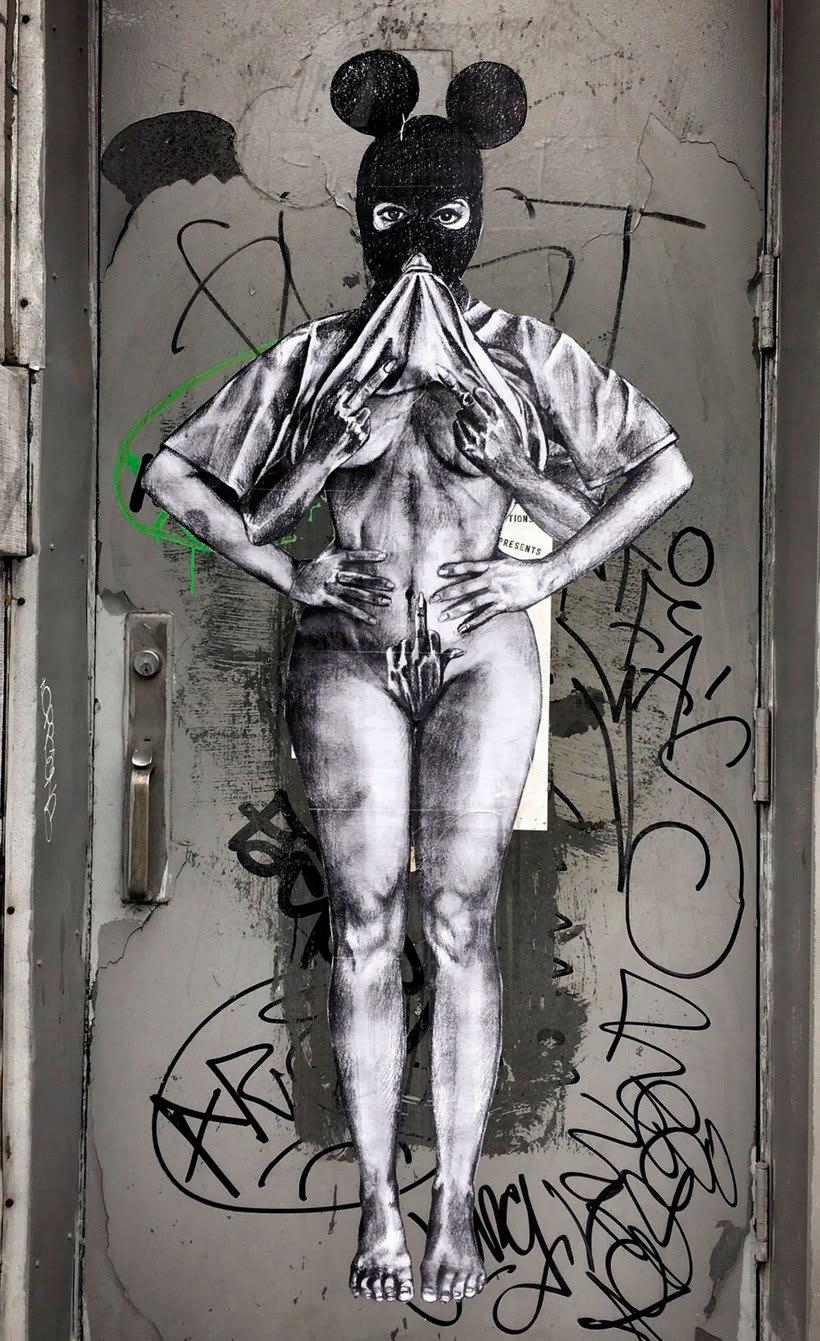 ¿Por qué Missme cambió su trabajo por el arte urbano? 28