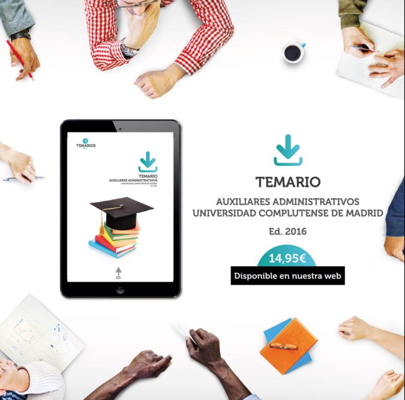 """Diseño de aplicaciones para Social Media """"temariosenpdf.es"""" 7"""