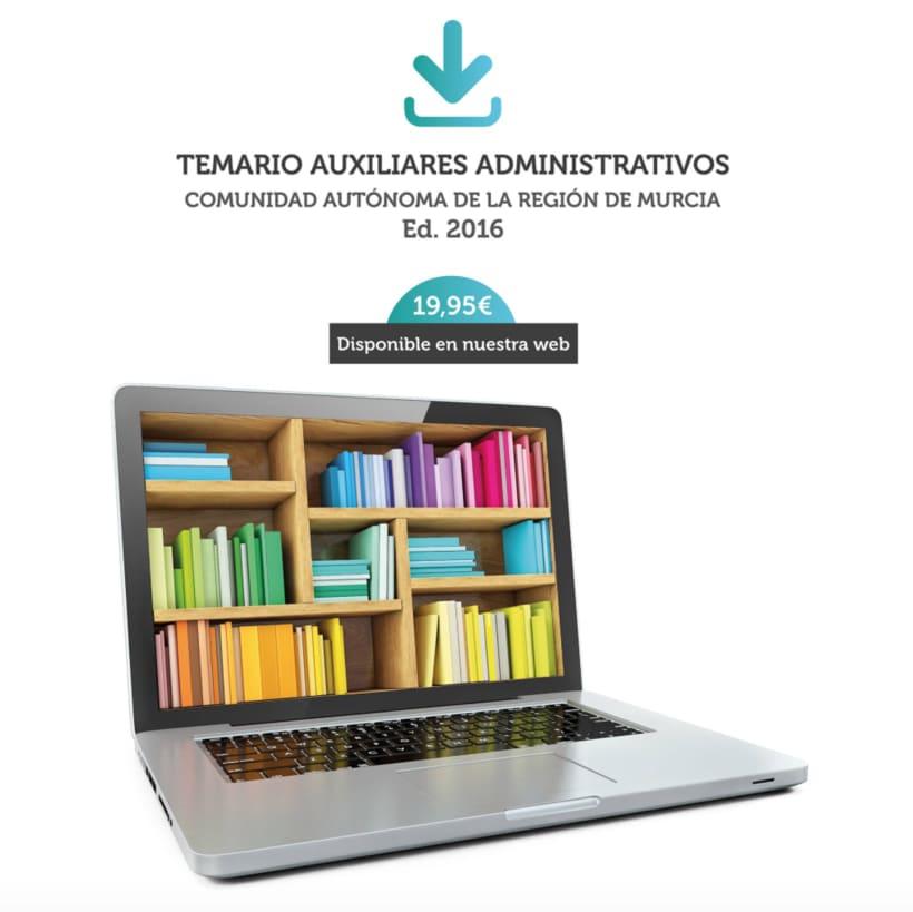 """Diseño de aplicaciones para Social Media """"temariosenpdf.es"""" 8"""