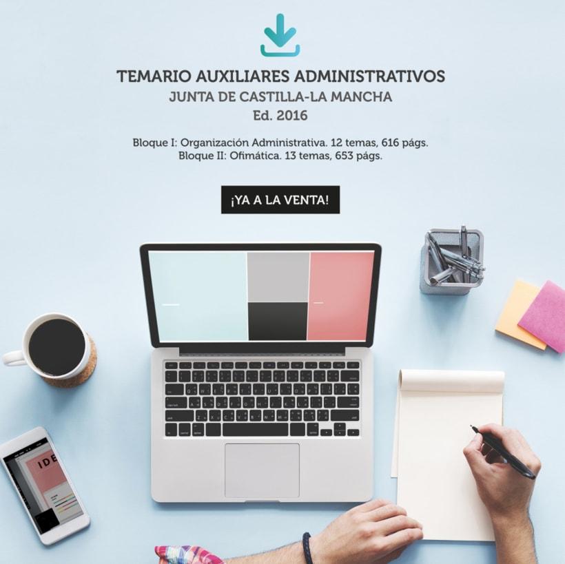 """Diseño de aplicaciones para Social Media """"temariosenpdf.es"""" 9"""