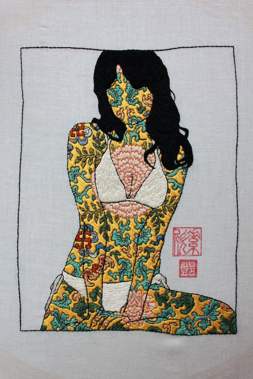 Tatuajes bordados para definir la identidad 9