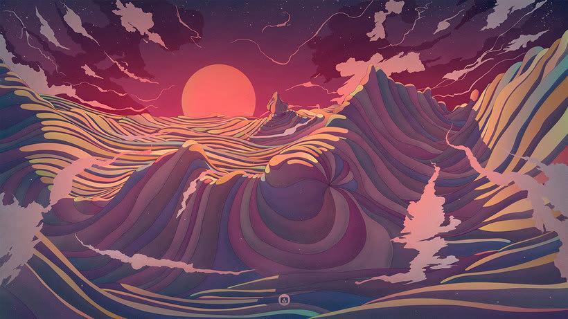 Los paisajes de ciencia ficción de Cristian Eres 1