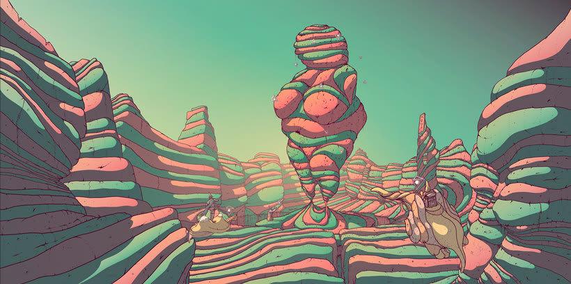 Los paisajes de ciencia ficción de Cristian Eres 4