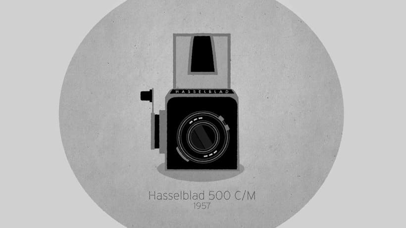Historia animada de la cámara fotográfica 3