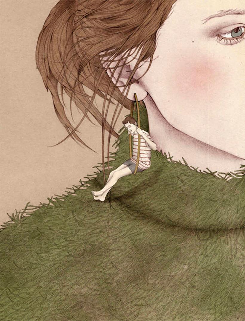 Nader Sharaf, el ilustrador de mundos escondidos 4