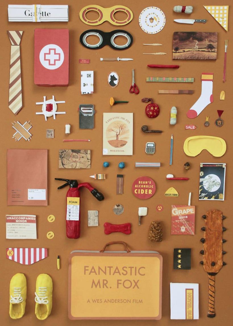 Posters de cine al más puro estilo Wes Anderson 9