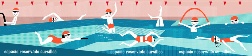 Ilustración: Nadadores 0
