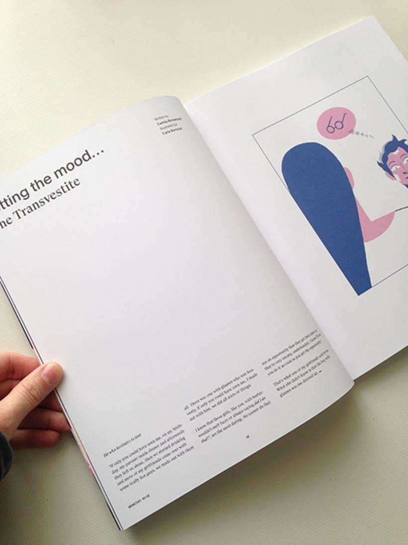 Mincho Magazine 0