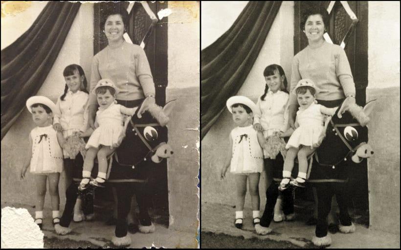 Restauración fotografías antiguas 1