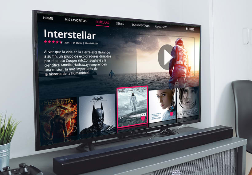 Smart TV UI/UX 2