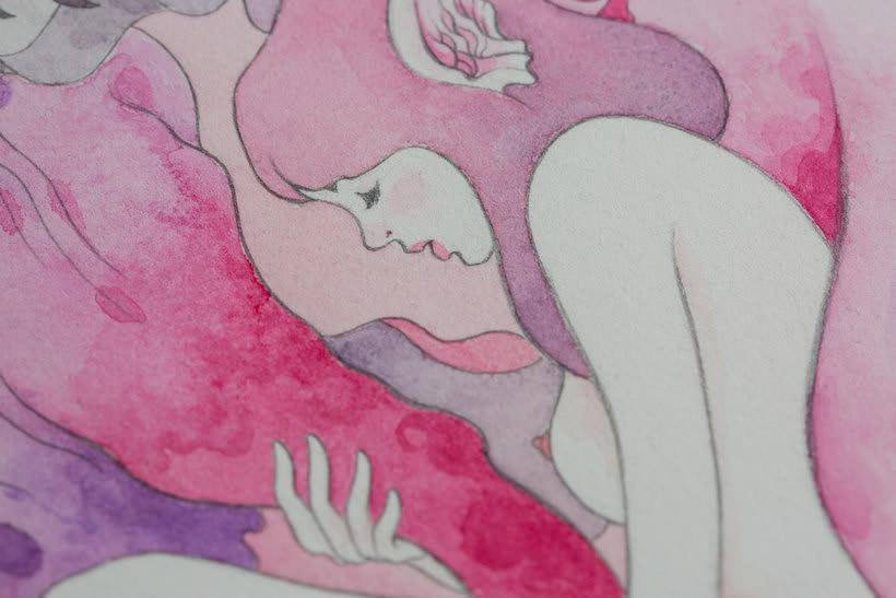 La belleza bajo el lápiz de Violeta Hernández 7