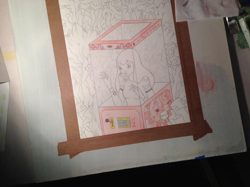 La belleza bajo el lápiz de Violeta Hernández 21
