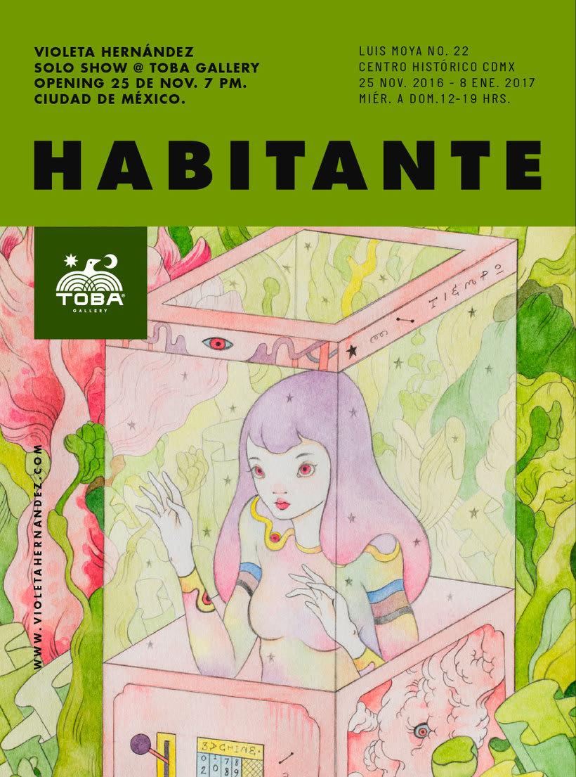 La belleza bajo el lápiz de Violeta Hernández 22