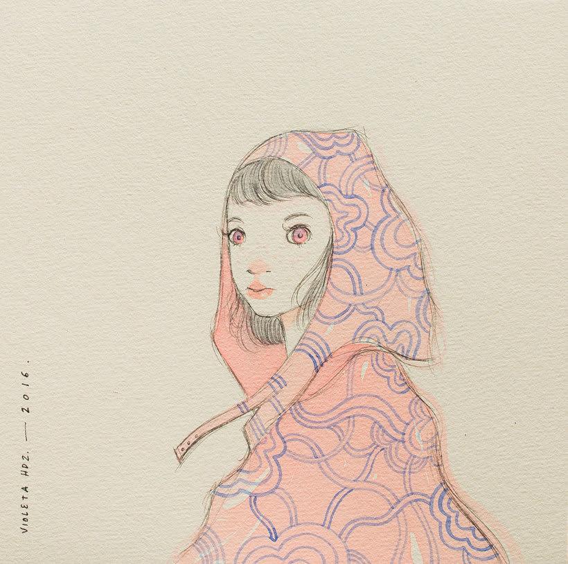 La belleza bajo el lápiz de Violeta Hernández 15