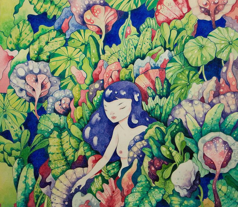 La belleza bajo el lápiz de Violeta Hernández 9