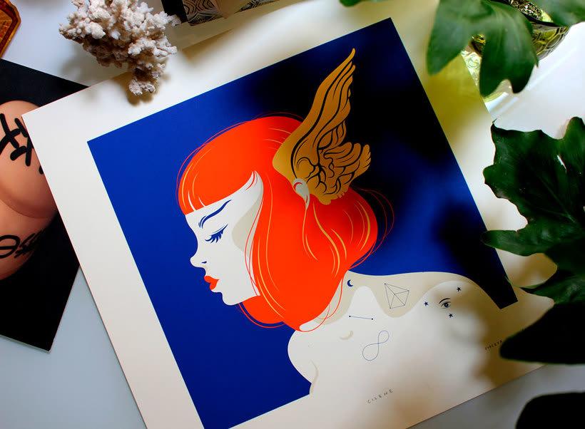 La belleza bajo el lápiz de Violeta Hernández 12