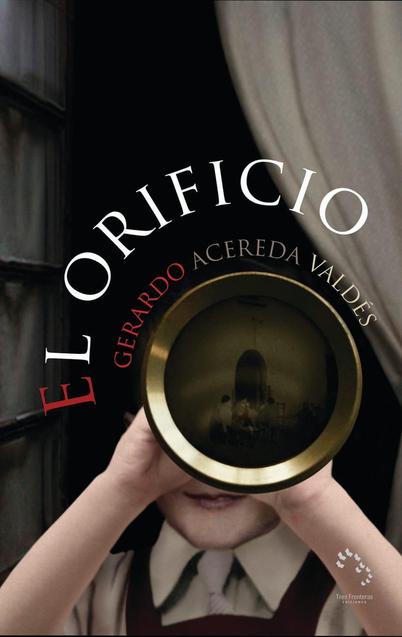 Cubierta de la novela: El orificio -1