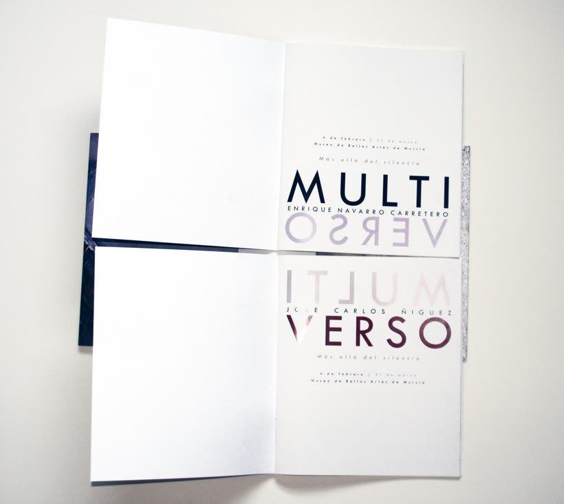 Multiverso, catálogo para exposición conjunta 3