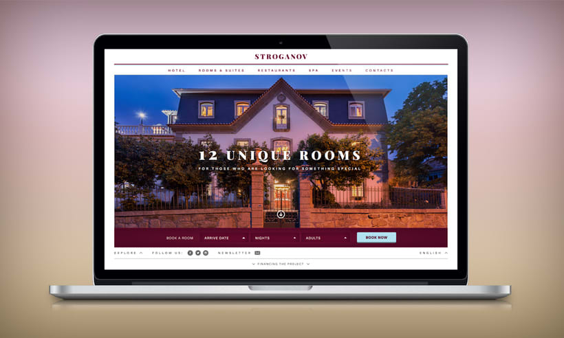 Stroganov Hotel - Website 1